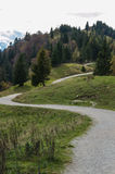 Hiking path Royalty Free Stock Images