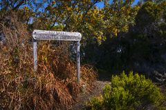 Hiking path, Piton de La Fournaise, Reunion Island. Hiking path, Piton de La Fournaise at Reunion Island Stock Image
