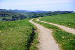 Hiking path. In spring, Wienerwald, Austria Stock Photography