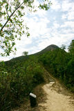 Hiking - Path to Peak Stock Images