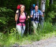 Hiking people royalty free stock photos