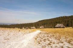Hiking in the Polish Tatra Royalty Free Stock Photography