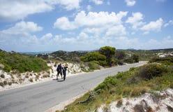 Hiking Rottnest Island Stock Photo