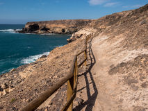 Hiking Route, Canary Islands Royalty Free Stock Photo