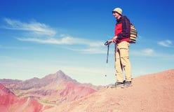 Rainbow mountain Royalty Free Stock Image