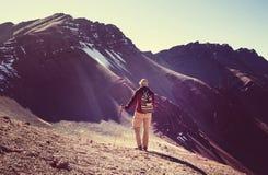 Rainbow mountain Royalty Free Stock Photography