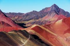Rainbow mountain Stock Photos