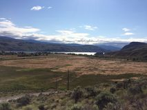 Hiking in the scenic Kamloops mountains. Hike in the Scenic Kamloops mountains Royalty Free Stock Photos