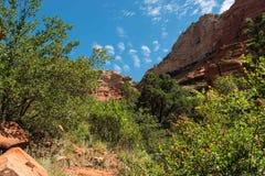 Hiking in Sedona AZ Stock Photo