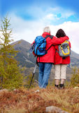 Hiking seniors 5 Stock Photography