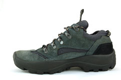 Hiking shoe. Isolated on white background Royalty Free Stock Images