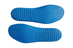 Hiking shoe insoles Royalty Free Stock Images