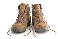 Hiking shoes Royalty Free Stock Image