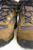 Hiking Shoes. Close-up of a pair of hiking shoes Royalty Free Stock Photography