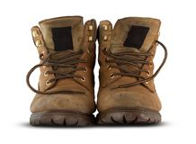 Hiking shoes Royalty Free Stock Photography