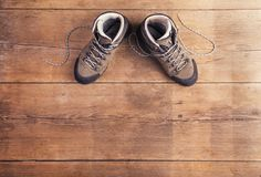 Hiking shoes Royalty Free Stock Photos
