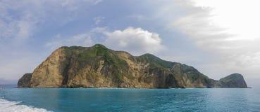 Hiking and sight seeing at Guishan Island Stock Photo