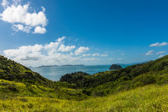 Hiking on South Molle Island, part of the Whitsunday Islands in Australia Royalty Free Stock Images