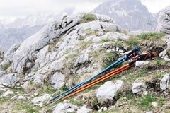 Hiking sticks Stock Images