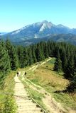 hiking tatra гор Стоковые Фото