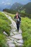 Hiking in Tatra Mountains Royalty Free Stock Photos