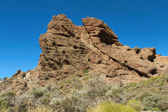 Hiking in the Teide National Park in Tenerife Canary Islands, Spain, Europe Stock Images