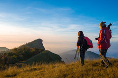 Hiking in Thailand Stock Images