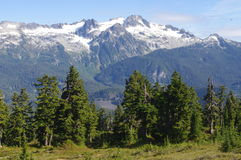 Hiking to Elfin Lakes Stock Images