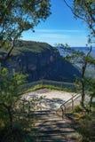 Hiking to gordon falls lookout, blue mountains, australia 2. Hiking to gordon falls lookout, blue mountains national park, australia stock photos
