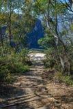 Hiking to gordon falls lookout, blue mountains, australia 1. Hiking to gordon falls lookout, blue mountains national park, australia royalty free stock images