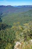 Hiking to gordon falls lookout, blue mountains, australia 10. Hiking to gordon falls lookout, blue mountains national park, australia royalty free stock image