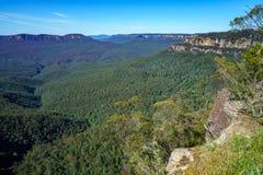 Hiking to gordon falls lookout, blue mountains, australia 7. Hiking to gordon falls lookout, blue mountains national park, australia royalty free stock photos