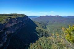 Hiking to gordon falls lookout, blue mountains, australia 11. Hiking to gordon falls lookout, blue mountains national park, australia royalty free stock image