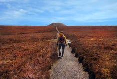 Hiking to Knocknarea, Sligo, Ireland