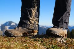 Hiking tour Royalty Free Stock Photos