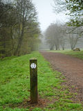 Hiking track_009. Along the West highland way of Scotland Stock Image