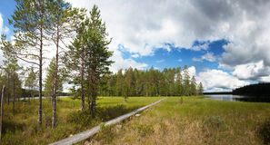 Hiking trail Stock Photography