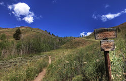 Free Hiking Trail Royalty Free Stock Photography - 12150177