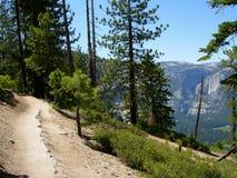 Hiking Trail. In Yosemite National Park, California stock images
