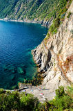 Hiking trail in Cinque Terre Stock Photography