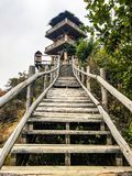 Hiking trail. Fall Beijing park leaves fun green beautiful lovely great love live life hiking trail fun ladder stock image