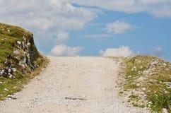Hiking trail, Gailtal Alps, the mountain Dobratsch, Carinthia royalty free stock photography