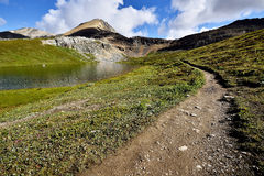 Hiking Trail Helen Lake Cirque Peak Stock Photo