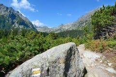 Hiking trail Royalty Free Stock Image