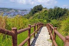 Hiking Trail In Cheung Chau At Peak Stock Photo