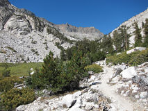 Hiking trail in Kings Canyon National Park Royalty Free Stock Photography