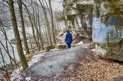 A hiking trail in the Niagara on the lake Royalty Free Stock Photo