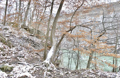 Hiking trail in the Niagara on the lake Royalty Free Stock Photo