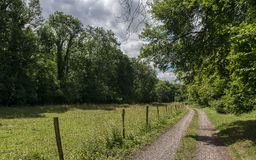 Hiking trail in Normandy, France Royalty Free Stock Photography