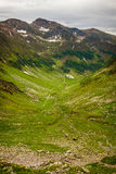 Hiking trail in the Romanian mountains Royalty Free Stock Photography